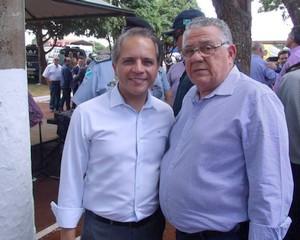 Braz Melo junto com o deputado estadual Coronel David - Divulgação