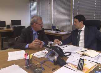 Deputado Geraldo Resende em audiência no Ministério das Cidades – Foto: Assessoria
