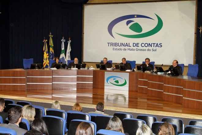 Contas do Governo de MS referentes a 2016 foram aprovadas em Sessão Especial do Pleno realizada nesta quarta-feira, 31 – Foto: Roberto Araújo