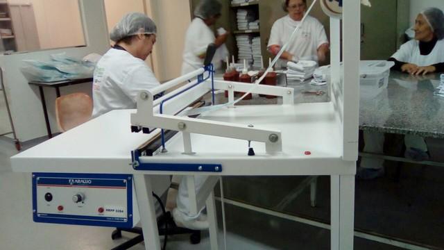Seladora para materiais esterilizados - Assessoria