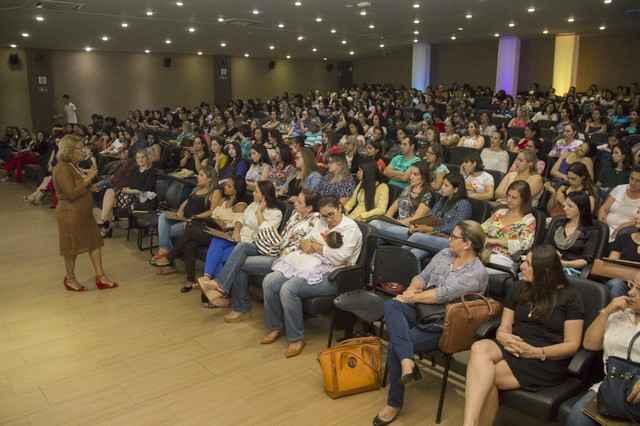 Acadêmicos de Pedagogia participam de discussão sobre Direito à Educação – Foto: Decom