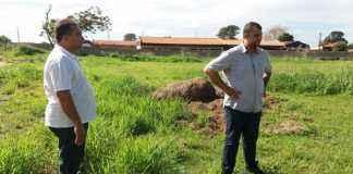 Segundo o vereador o campo era utilizado pela comunidade local, mas atualmente encontra-se abandonado - Divulgação