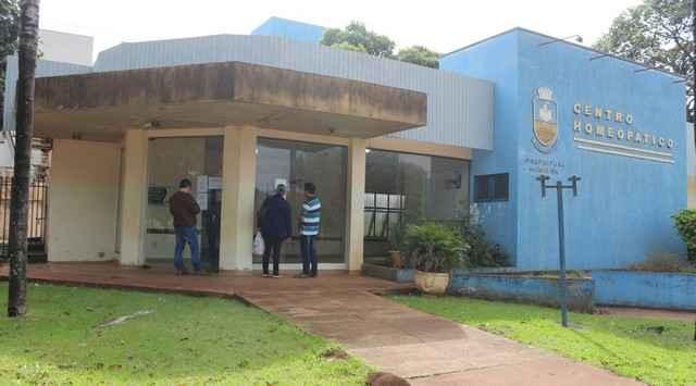 Centro Homeopático de Dourados está com as portas fechadas e pacientes não recebem informações sobre os motivos - Divulgação