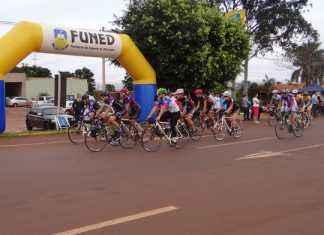 Ciclistas de diversas cidades compareceram na etapa Estadual de resistência – Foto: Waldemar Gonçalves - Russo