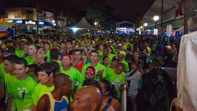 Corrida Rota das Estações realizada neste sábado em Dourados atraiu mais de 600 participantes - Assessoria