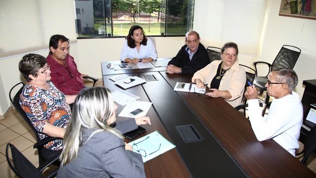 Reunião de secretários com a prefeita discutiu projeto do novo bloco do CAM - Foto: A. Frota