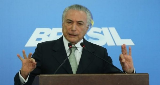 Presidente Michel Temer recebeu ministros, o presidente do Senado e líderes aliados no Alvorada para discutir crise – Assessoria PR