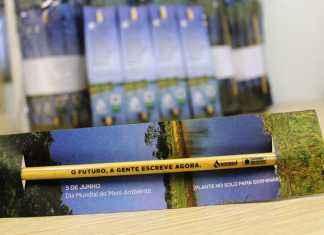 10 mil lápis ecológicos serão distribuídos – Assessoria