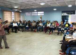 Servidores e conselheiros participaram de palestras sobre o trabalho assistencial – Foto: A. Frota