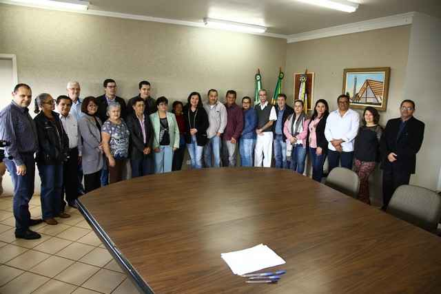 Conselheiros municipais de Saúde foram empossados na manhã desta quarta-feira – Foto: A. Frota