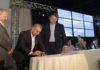 Governador Reinaldo Azambuja esteve nesta sexta-feira em Dourados, onde lançou o programa – Foto: Chico Ribeiro