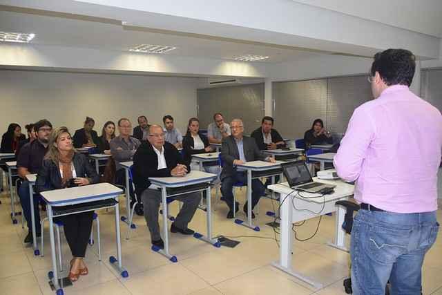 Abertura oficial da 1ª turma foi realizada nesta quarta-feira, 31, na sala de treinamento do IEL, em Campo Grande - Assessoria