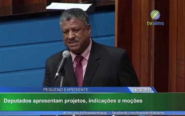 Em pequeno expediente da sessão plenária, deputado apresentou moção de repúdio endereçada ao secretário de saúde de Dourados - Assessoria