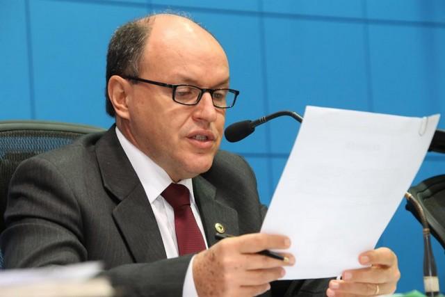 Presidente da Assembleia Legislativa, deputado Junior Mochi (PMDB) – Assessoria ALMS