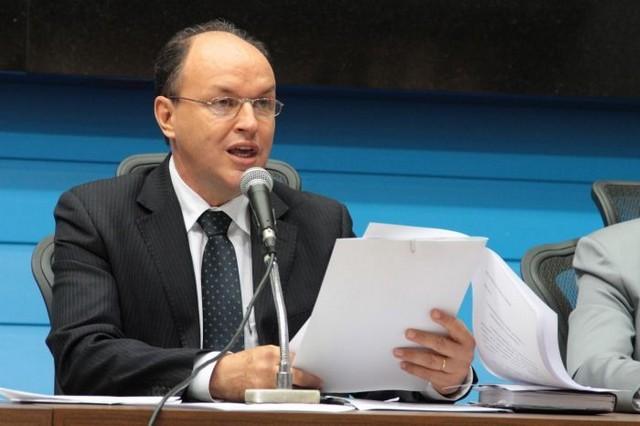 Deputado Junior Mochi (PMDB), presidente da Assembleia Legislativa - Assessoria