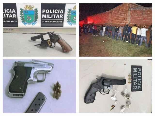 Final de semana foi bastante movimentado no setor policial em Dourados – Assessoria
