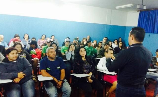 Palestra foi proferida pelo 1º Sargento PM Julio CT Arguelho, na noite desta quinta-feira, 22 - Assessoria