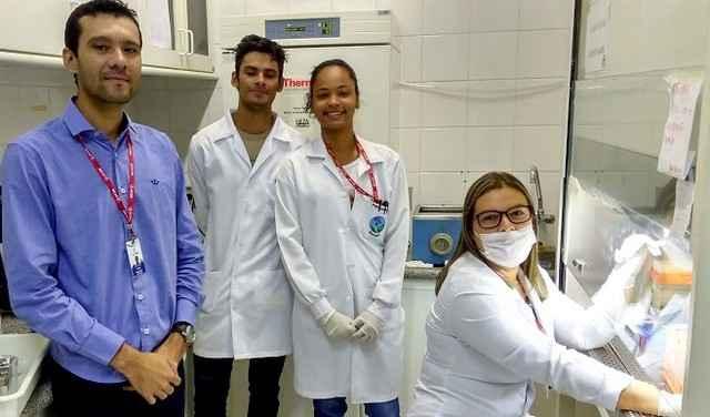 Parte da equipe que desenvolve a pesquisas com o apoio da Fundect - Divulgação
