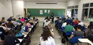 Processo seletivo do MPMS foi realizado neste domingo em 7 cidades - Foto: Comunicação Fapec