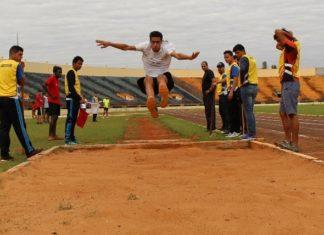 Provas de atletismo são disputadas nos JIFMS – Foto: Ascom IFMS