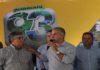 Reinaldo esteve neste sábado em Maracaju; na foto, com o prefeito Maurílio Azambuja – Foto: Chico Ribeiro