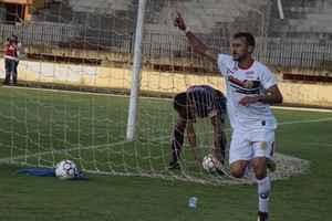 Sadan marcou o gol do Sete no domingo e é esperança para jogo em Luziânia - Foto: Noé Faria