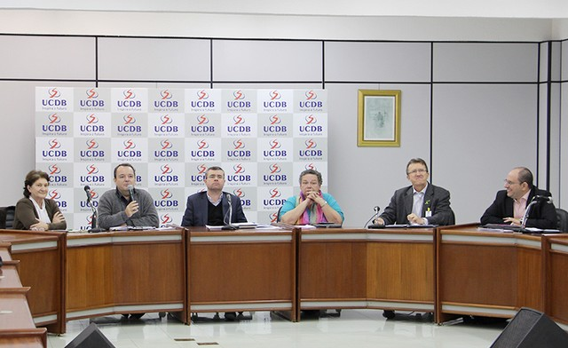 Eleição foi nesta segunda-feira; presidente eleito foi o reitor da UEMS, Fábio Edir - Assessoria