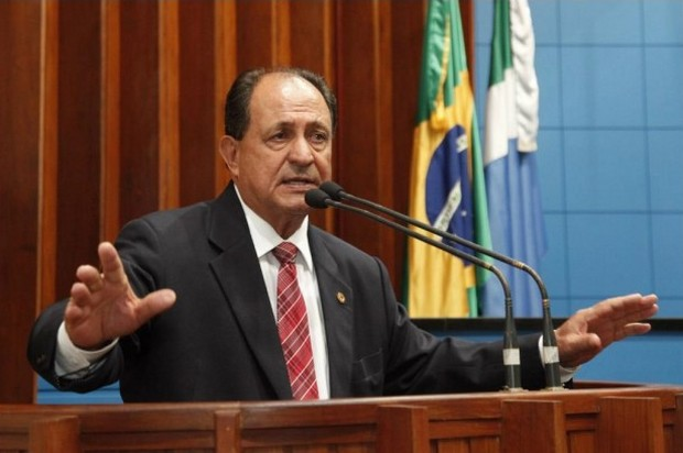 Deputado estadual Zé Teixeira (DEM), 1º secretário da ALMS - Assessoria