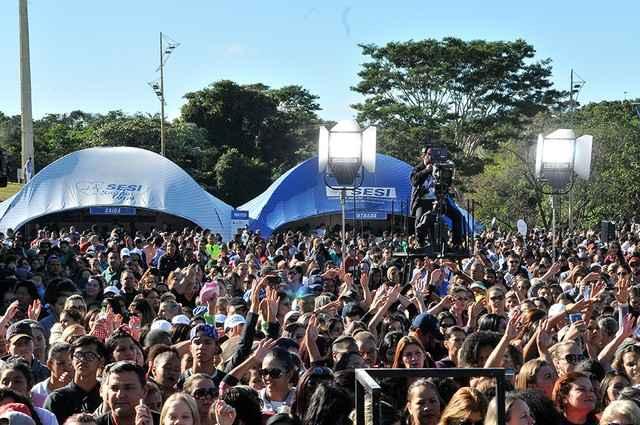Evento foi realizado no Parque das Nações Indígenas, em Campo Grande - Assessoria