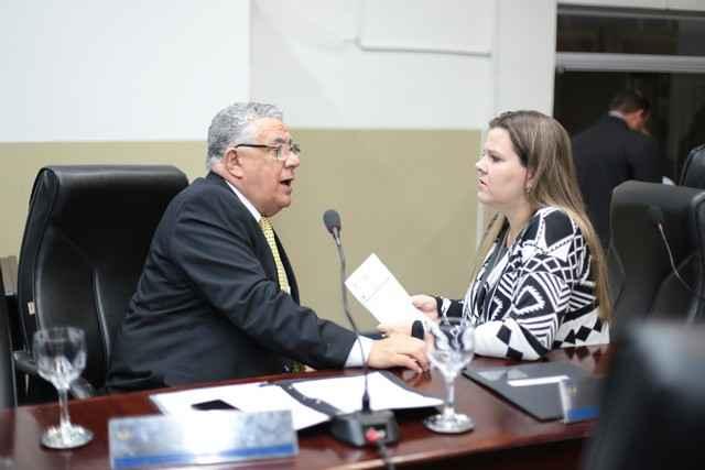 Daniela e Braz ressaltaram sobre a necessidade de mediar o conflito - Foto: Eder Gonçalves