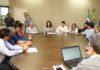 Acompanhada de secretários, prefeita recebeu jornalistas na manhã desta quinta-feira - Foto: A. Frota