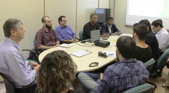 Reunião do Conselho do Funles, nesta quarta-feira, 28, na Semagro – Foto: João Prestes