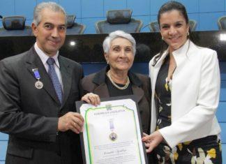 Reinaldo recebeu a Comenda Pedro Rufino em cerimônia realizada na noite desta terça-feira – Foto: Chico Ribeiro