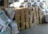 Foram apreendidos 2.526 quilos de maconha; droga estava escondida em fundo falso de um caminhão – Foto: DOF