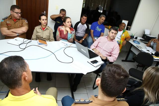 Reunião na manhã desta quarta-feira acertou últimos detalhes para a realização da prova pelas ruas de Dourados - Foto: A. Frota