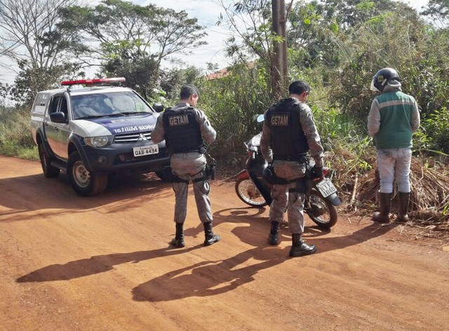 Uma das motocicletas furtadas foi recuperada na Aldeia Indígena de Dourados – Assessoria 3º BPM