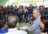 Governador esteve neste domingo na comunidade quilombola de Furnas do Dionísio, localizada no município de Jaraguari - Foto: Edemir Rodrigues