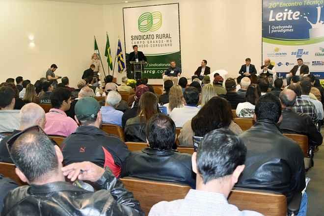 20º Encontro Técnico do Leite foi realizado pelo Sindicato Rural de Campo Grande nesta sexta-feira, 02 - Assessoria