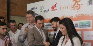 Ato solene de assinatura de contrato foi realizada nesta segunda-feira na Fundtur – Foto: Chico Ribeiro