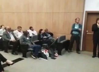 Presidente da Assomasul, Caravina discursa na audiência - Divulgação