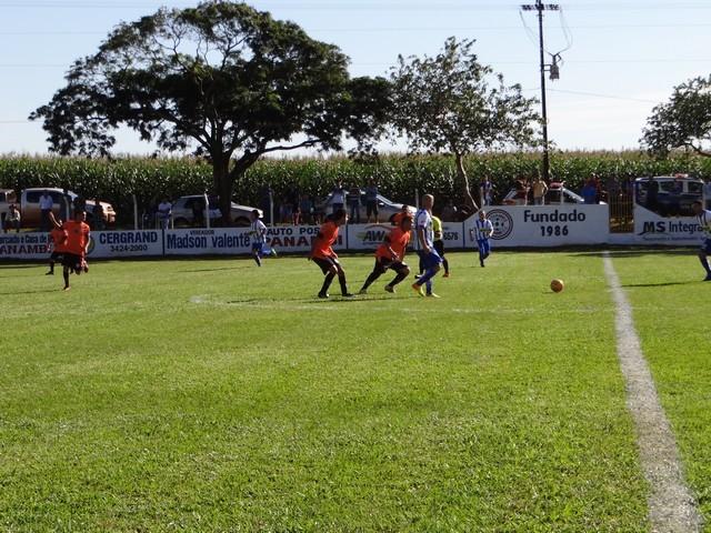 Colonial do Zanatta frustrou o bom número de torcedores que compareceram no estádio Tácito Pace para assistir ao jogo – Foto: Waldemar Gonçalves - Russo