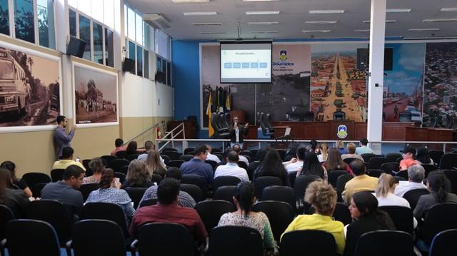 Servidores durante curso de qualificação - Foto: Eder Gonçalves