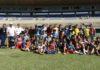 Sonho da garotada era o de conhecer e jogar bola no maior estádio do interior do MS – Foto: Waldemar Gonçalves - Russo