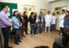Prefeita Délia e secretário Renato Vidigal visitaram unidades de saúde na manhã desta sexta-feira – Foto: A. Frota