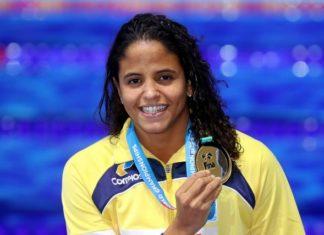 Etiene se torna a 1ª campeã mundial do país - Foto: Satiro Sodré/SSPress/CBDA
