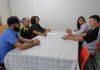 Reunião na sala da presidência da FUNED debateu a logística da prova que será realizada domingo próximo em Dourados – Foto: Waldemar Gonçalves - Russo