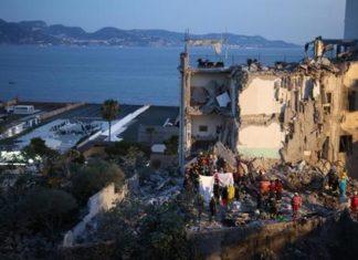 Socorristas retiram 8 corpos de prédio que desabou na Itália - Foto: ANSA