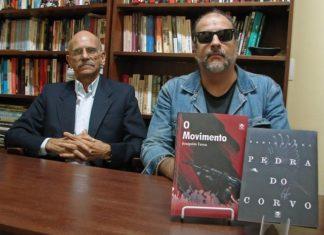 Joaquim e Fábio Terra realizam noite de autógrafos nesta terça, na Livraria Leparole – Foto: Raquel de Souza