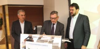 Termo de criação foi assinado em reunião no Edifício Casa da Indústria, e contou com a presença do governador Reinaldo Azambuja - Assessoria