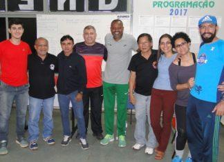 Zequinha Barbosa foi recebido por parte dos funcionários da FUNED – Foto: Waldemar Gonçalves - Russo